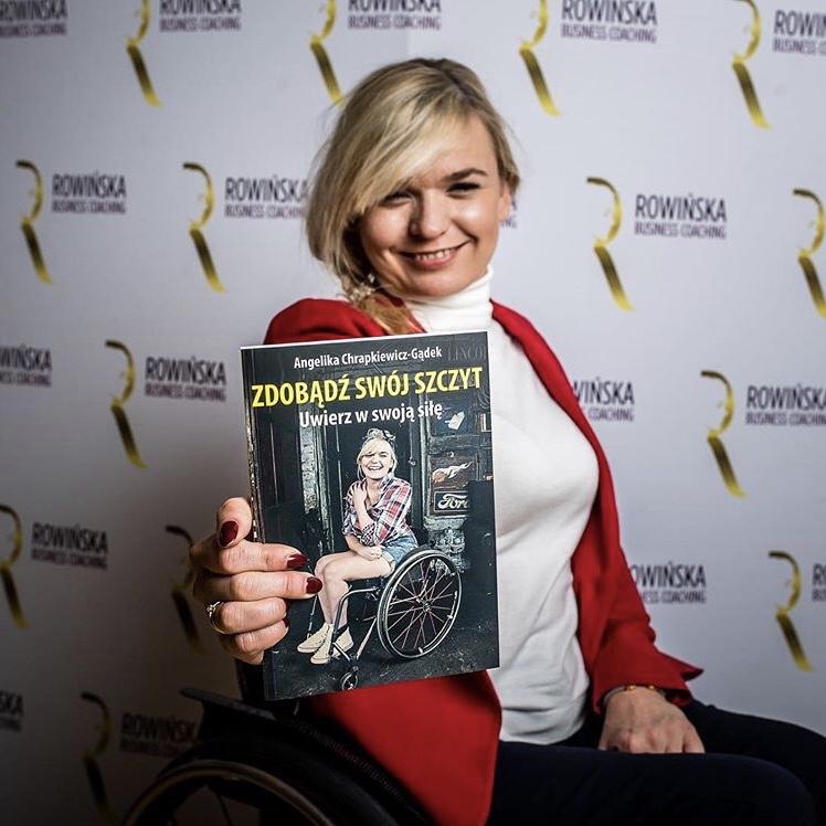 """Książka """"Zdobądź swój szczyt"""" Angelika Chrapkiewicz-Gądek"""