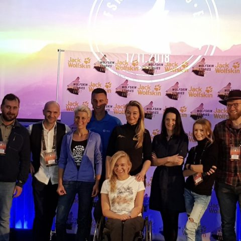 Busem przez świat, Angelika Chrapkiewicz-Gądek, Martyna Wojciechowska, Wolfskin Story Event II